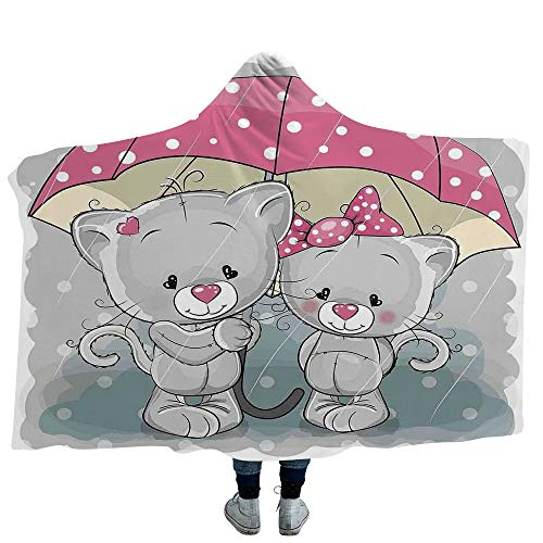 Blanket for Boys Girls,Cartoon,Soft Fluffy Minky Warm Cover Relieves Anxiety Stress Insomnia ()