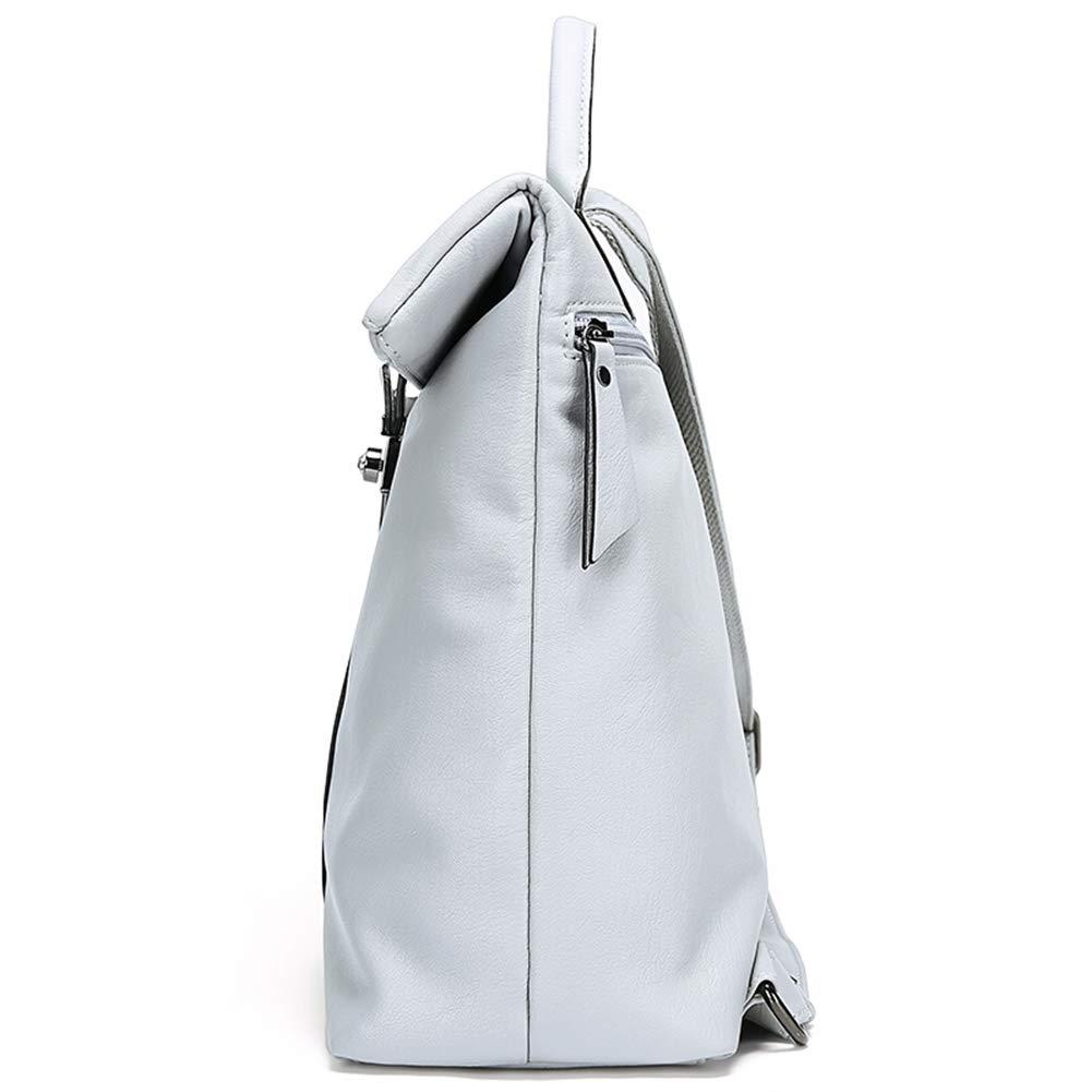 Backpack Leisure Bag Travel Bag Crossbody Bag Grey Black 271229cm ZHML Vintage Soft Leather Ladies Backpack