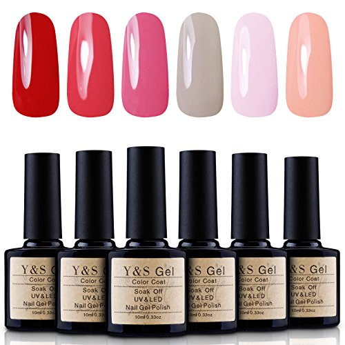 Yaoshun Gel Nail Polish, Soak Off UV LED Nail Art Starter Ki