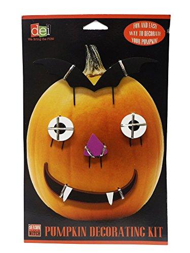 Frankenstein Kit (Monster Pumpkin Decorating Kit for Halloween)