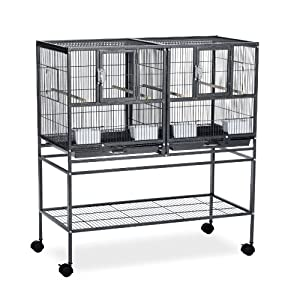 7. Prevue Hampton Deluxe Cage System with Stand