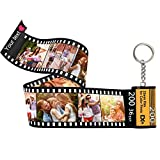 Personalized Custom Photo Picture Camera Film Roll Keychains with Photo Reel Album, Personalized Gifts with MultiPhoto