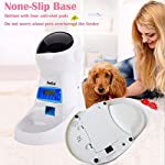 PetCul Automatic Cat Feeder 3L Pet Food Dispenser Feeder for Medium & Large Cat Dog——4 Meal, Voice Recorder & Timer Programmable, Portion Control 13