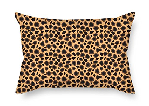 Leopard Pillowcase 18 X 26 Inches / 45 By 65 Cm Best Choice For Valentine Kids Boys Father Her Teens Festival With Both Sides - Leopard Cowhide