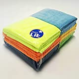 #3: MaxLit- MicroFiber Cleaning Cloth 12 PC Color Pack, 16 x 16 in.