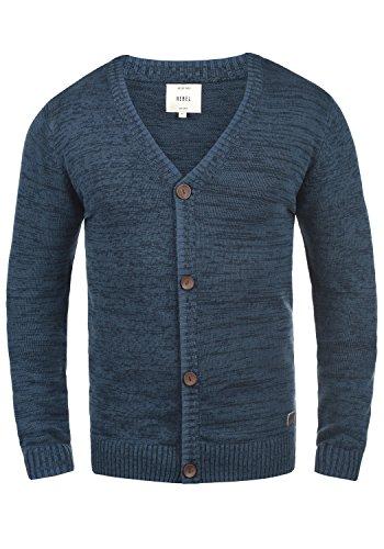 En 100 Cardigan Gilet Homme True Blue Rebel Miles V Coton Veste Pour Redefined Maille Avec Encolure nwcXBxxf7