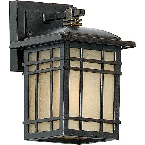 Quoizel HC8406IB Hillcrest Outdoor Lantern Mission Wall Sconce, 1-Light, 100 Watts, Imperial Bronze (9