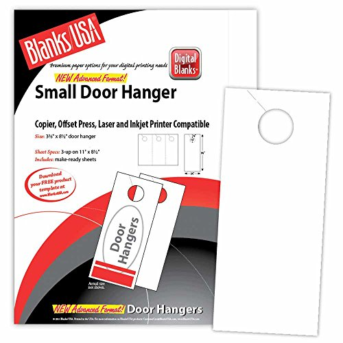 Blank Door Hangers (Digital Door Hanger - 3.67