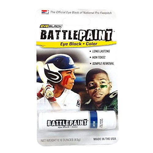 EyeBlack Blue BattlePaint Eye Black Grease ()