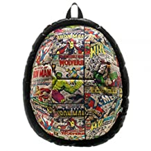 Marvel Comic Heroes Retro Sublimated Comic Print Biodome Backpack
