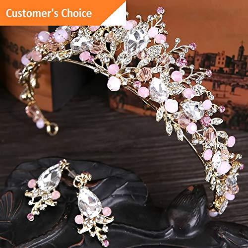 Werrox Wedding Bridal Pearl Flower Crystal Hair Pin Clip Hair Band Crown Tiara Headwear | Model HRPN - 627 -
