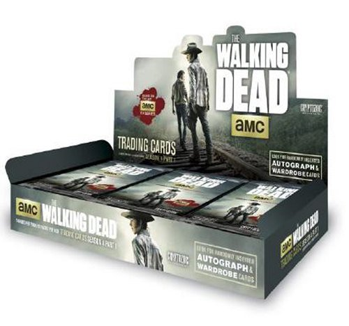Trading 4 Cards Season Box - The Walking Dead Season 4 Part 1 Trading Cards Box (Cryptozoic 2016) by Cryptozoic Entertainment