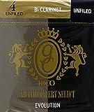 CAÑAS CLARINETE - Rico Grand Concert Select (Evolution) (Dureza 4) (Caja de 10 Unidades)