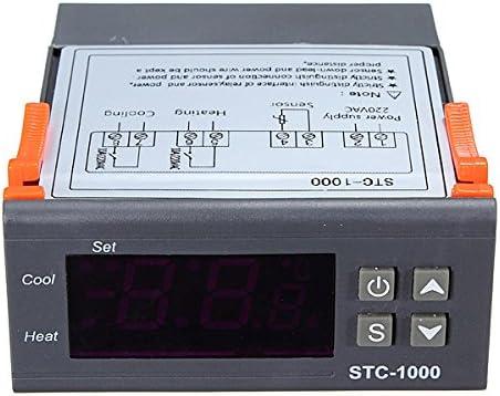 Digital STC-1000 All-Purpose Temperature Controller Thermostat With Sensor 220V