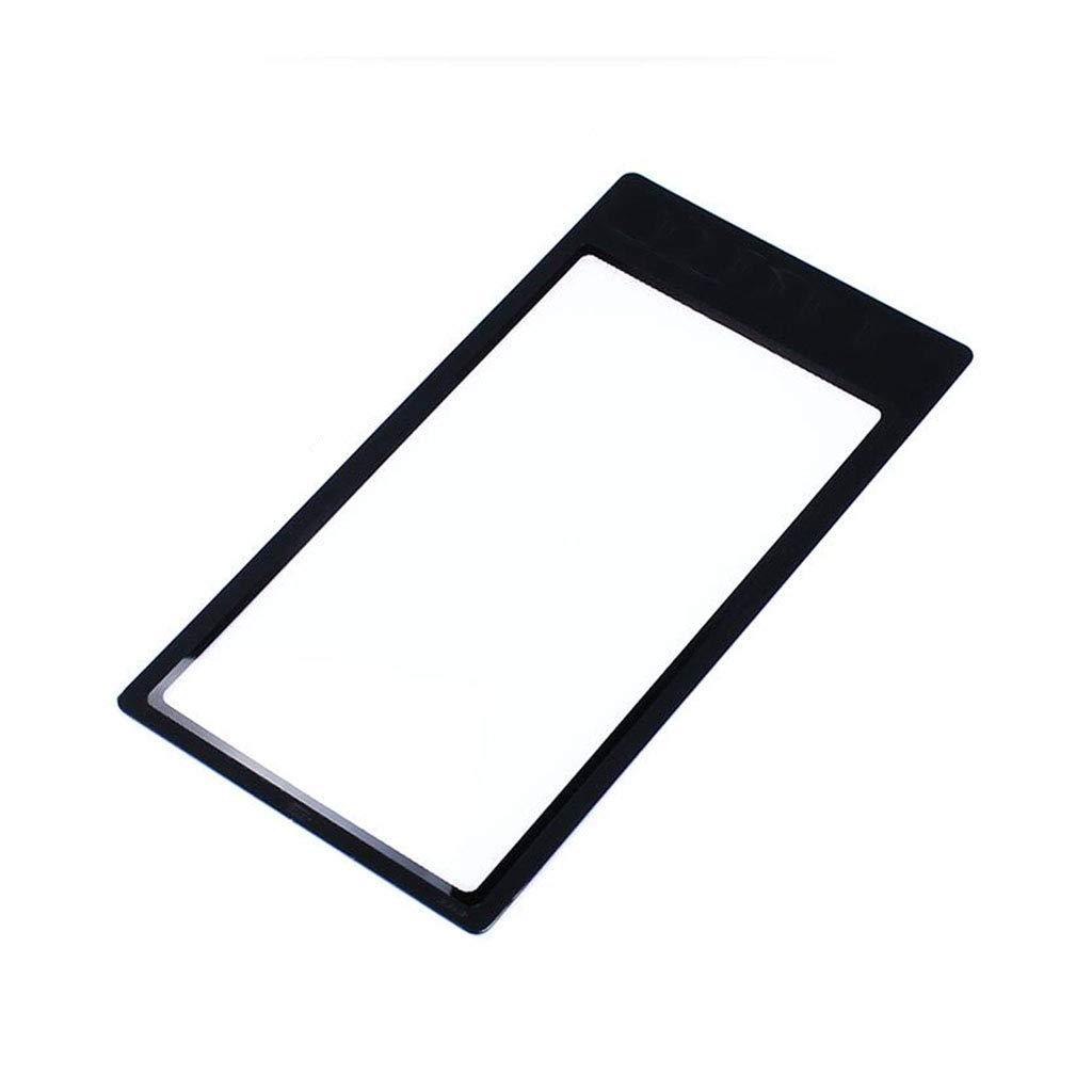 HBWJSH Tarjeta portátil de Mano Lupa Tipo de de Tipo Marcador de Lectura Anterior 2.5 Veces e93771