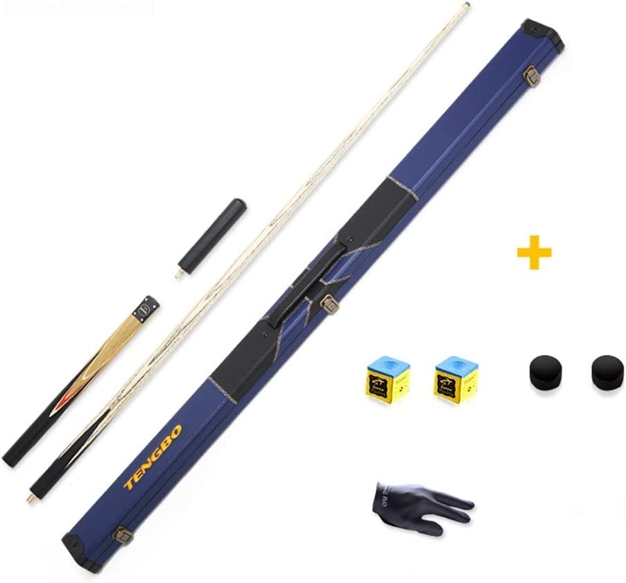 ZXH Pool Cues Set Black 8 Small Head Tres Secciones Estándar ...