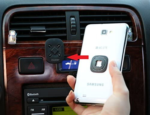 Amazon Com Car Cell Phone Holder Iholder The Clever Phone Holder For Your Car S Dashboard Home Office The Latest Patented Universal Mount For Iphone Galaxy Htc Motorola And Blackberry Garmin