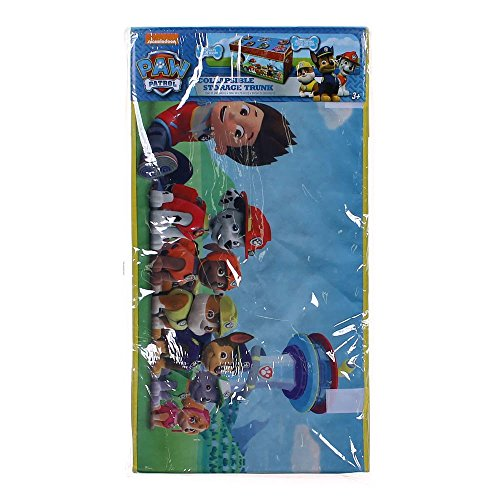 Nickelodeon Paw Patrol Boys' Collapsible Oversized Storage T