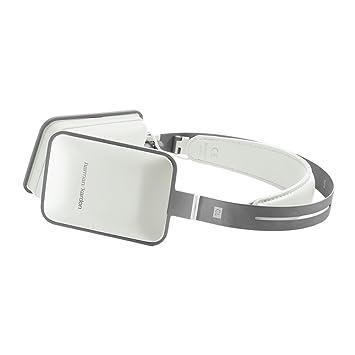 Harman Kardon CL - Auriculares diadema abiertos (con micrófono, control remoto integrado, 3.5 mm), blanco: Amazon.es: Electrónica