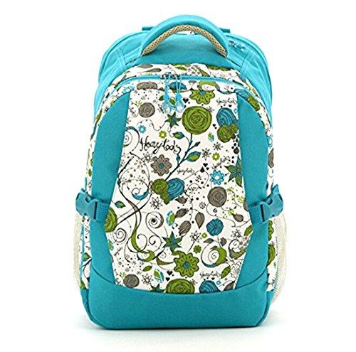 Large Capacity Travel Diaper Bag /Floral Bags/ Backpack w...