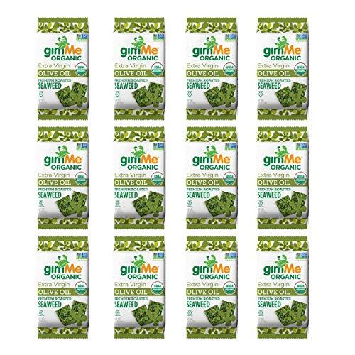 gimMe Snacks Organic Premium Roasted Seaweed