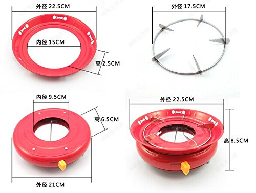 Cooking Camping & Survival Burner Alcohol Backpacking Camp Stove Buffe Furnace Solid Liquid Fuel