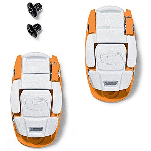 (Sidi Caliper Buckle Orange/White)