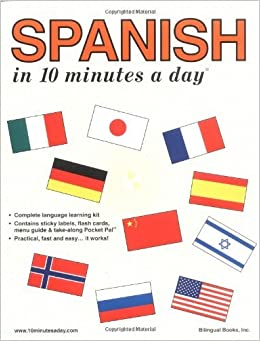 Book By Kristine K. Kershul Spanish in 10 Minutes a Day?? 5e