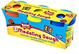 Bazic 5 oz. Multi Color Modeling Dough - 3/Pack 24 pcs sku# 816427MA
