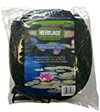 Heritage Pet Products Pond Cover Net Koi Fish Pond Netting Protects From Cats Leaves Herons (6m x 4m Pond net)