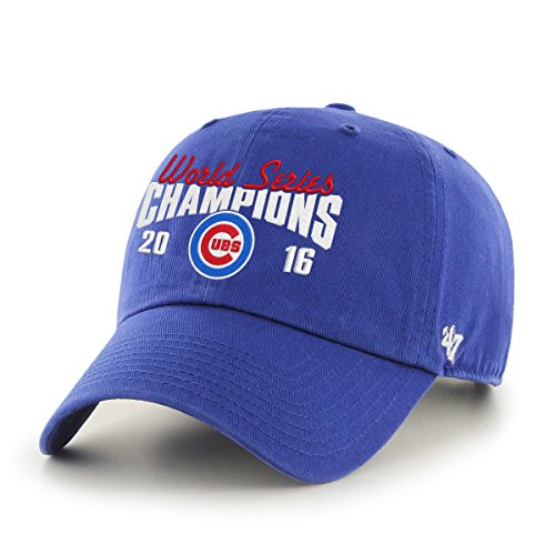 - Chicago Cubs 2016 World Series Champions Script Clean Up Cap