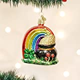 Old World Christmas Pot Of Gold Glass Blown Ornament