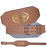 Farabi Sports Weight Lifting Body Building Gym Leather Belt Wide (L/XL) Review