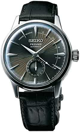 SEIKO PRESAGE Power Reserve Dark Gray Cocktail Time