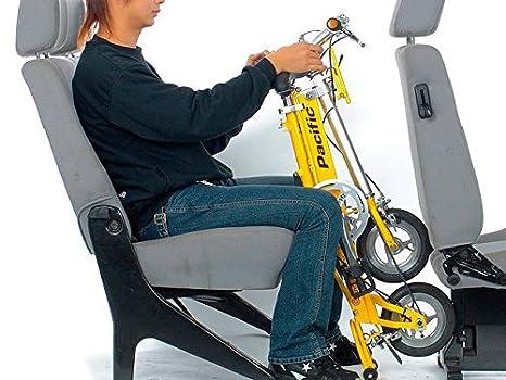 Bicicleta plegable CarryMe SD (sin marchas) amarilla: Amazon.es: Deportes y aire libre
