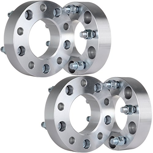 ECCPP Wheel Spacers 4PCS 5Lug 1.5'' Thick 5x135 to 5x135 1998 1999 2000 2001 2002 Ford Expedition F-150 Lincoln Navigator Wheel Spacer 14x2 Studs by ECCPP (Image #1)'