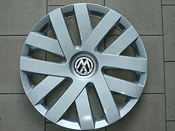 Juego de 4 llantas, tapacubos para Volkswagen Polo modelos a partir del 2009 R 15.: Amazon.es: Coche y moto