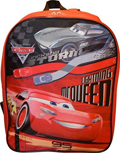 "Price comparison product image Disney Pixar Cars McQueen 15"" School Bag Backpack"