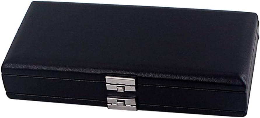 Milisten Caja de Caja de Caña Oboe Caja Protectora de Madera Cubierta de Cuero de La Pu para Caña de Oboe de 20 Piezas (Negro): Amazon.es: Instrumentos musicales