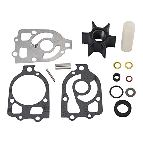 - Quicksilver 89984Q5 Water Pump Repair Kit - Mercury and Mariner Outboards and MerCruiser I, R, MR and Alpha Stern Drives with Short Vane Impellers
