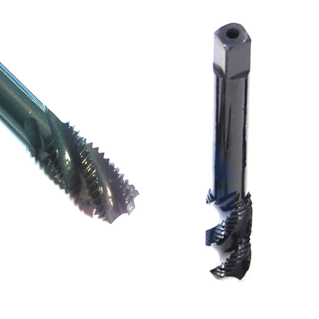 Godagoda Gewindebohrer Maschinengewindebohrer Drill Bits Satz HSS 1 stk M3 M4 M5 M6 M8 M10 M12