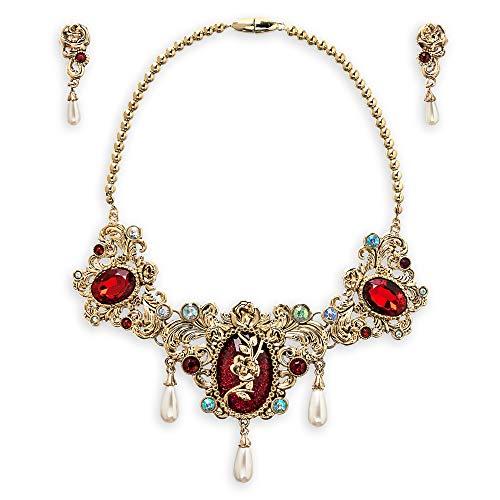 Disney Princess Necklace - Disney Belle Jewelry Set