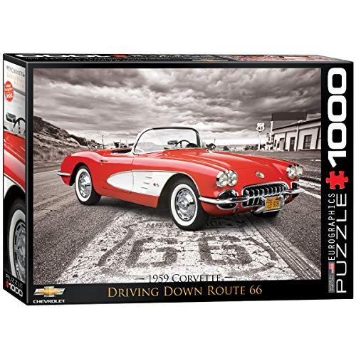 - EuroGraphics 1959 Corvette 1000 Piece Puzzle