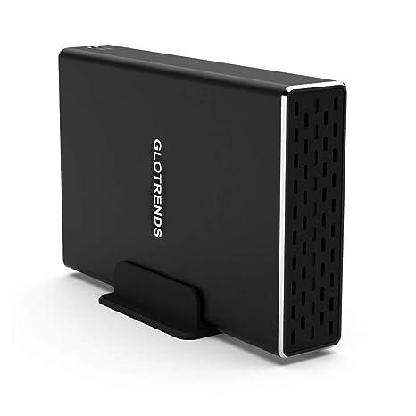 GLOTRENDS 25R-C 2 Bay USB-C 3.1 Gen2 10 Gbps Disco Duro Raid ...