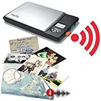 Flip-Pal Wireless Scanner. With 4GB Wi-Fi SDHC card. StoryScans talking images and EasyStitch stitching software included on SD card. ScanTools app for iOS and Android devices.