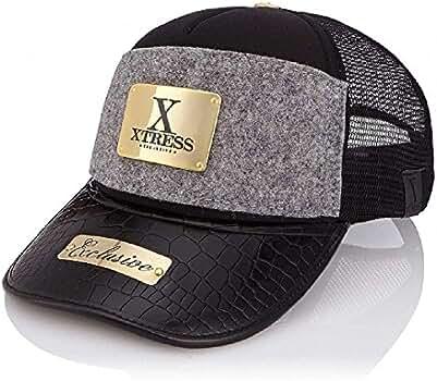 Xtress Exclusive Gorra negra y gris para hombre y mujer.: Amazon ...
