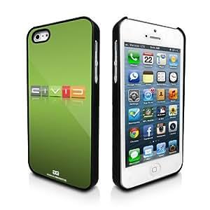Honda Civic Reverse C Lime Green Apple iPhone 5 Matte Black Phone Case