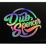 DUB SPENCER Crew Sticker Oil Slick decal Auto Porno Hologram foil stance static DUB
