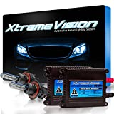 hid conversion kit hummer h3 - XtremeVision 35W HID Xenon Conversion Kit with Premium Slim Ballast - Bi-Xenon H13 / 9008 6000K - Light Blue - 2 Year Warranty