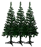 DLUX 6' Charlie Pine Artificial Christmas Tree (3 Pack)